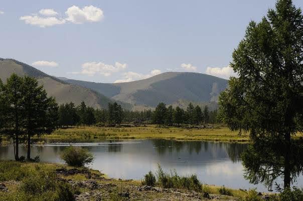Khorgo Terkhiin Tsagaan Nuur National Park.