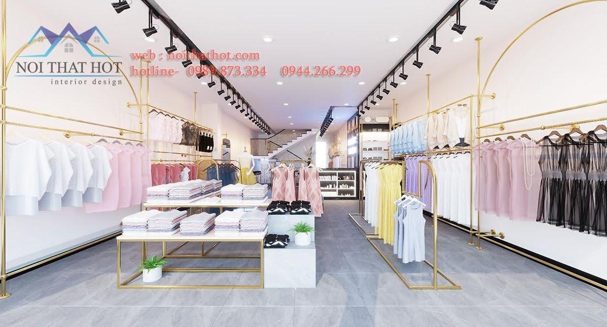 Thiết kế shop quần áo 100m2
