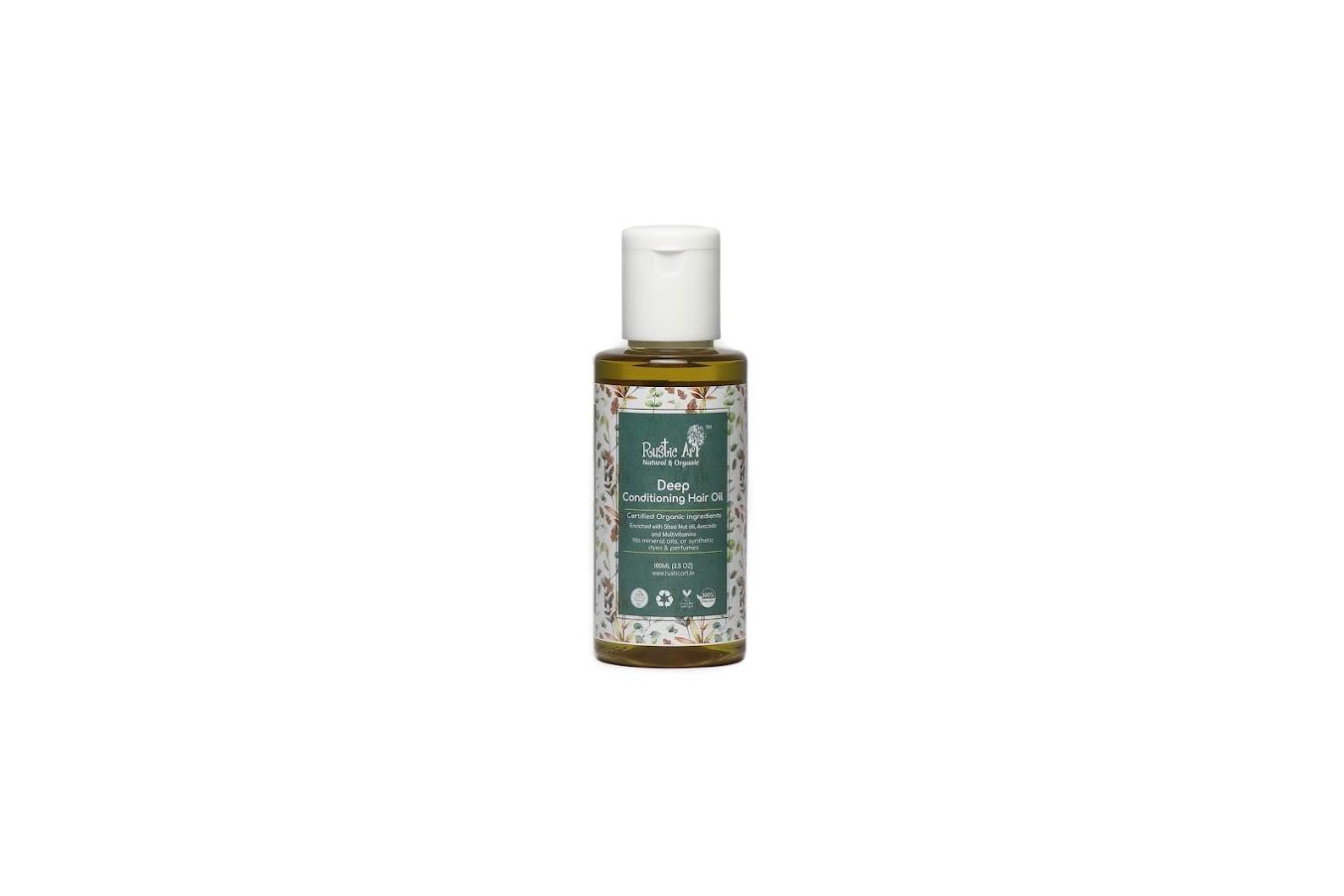 Rustic Art Organic Deep Conditioning Hair Oil