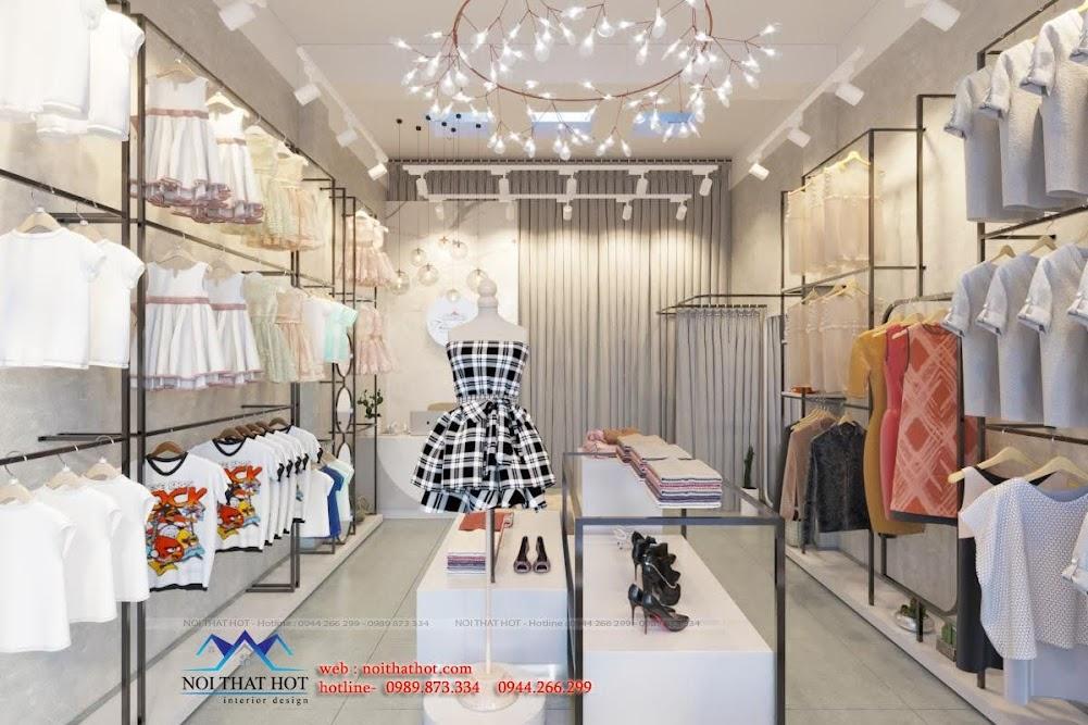 thiết kế shop quần áo và phụ kiện