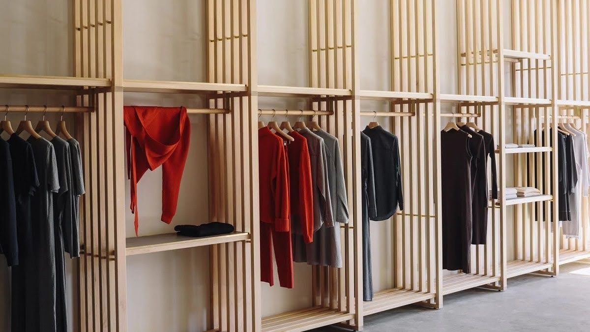 thiết kế shop quần áo thời trang