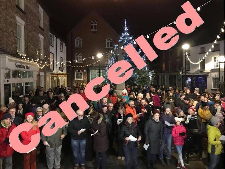 Christmas Eve Carols cancelled