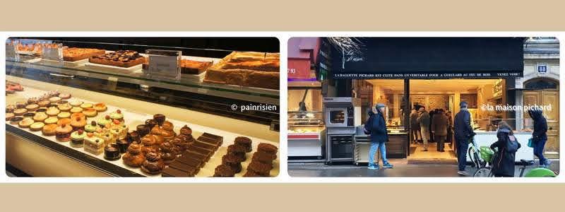 パリのパンオショコラ La Maison Pichard ラ・メゾン・ピシャール