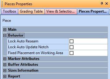 Piece Properties Trong Optitex 2