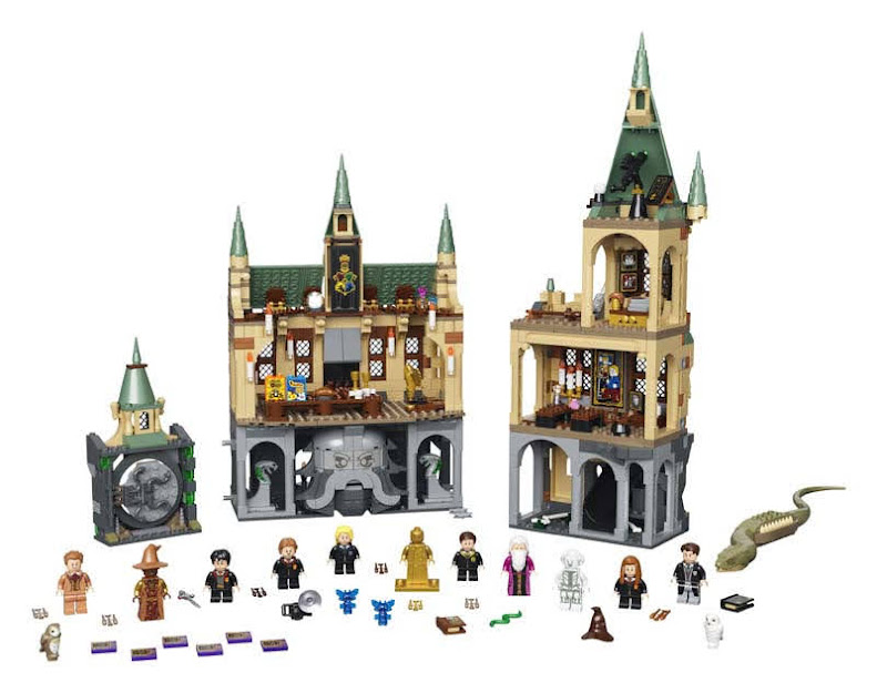 Contenido de LEGO® 76389 Hogwarts™: Cámara Secreta