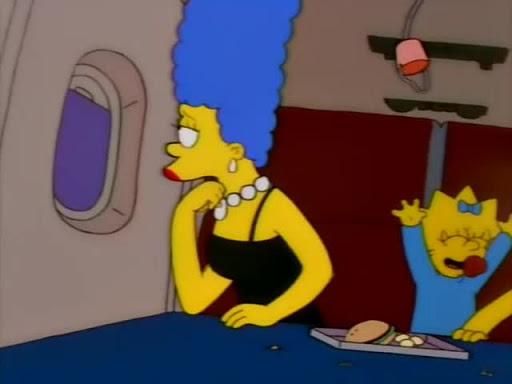 Los Simpsons 9x25 Marge, ¿Puedo dormir con el peligro?
