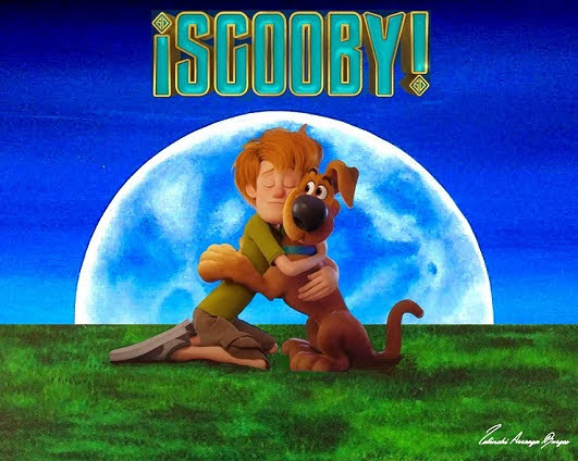 Arte Digital Enviado Warner Bros Artista Lalinchi Arreaga Burgos E.E.A.B