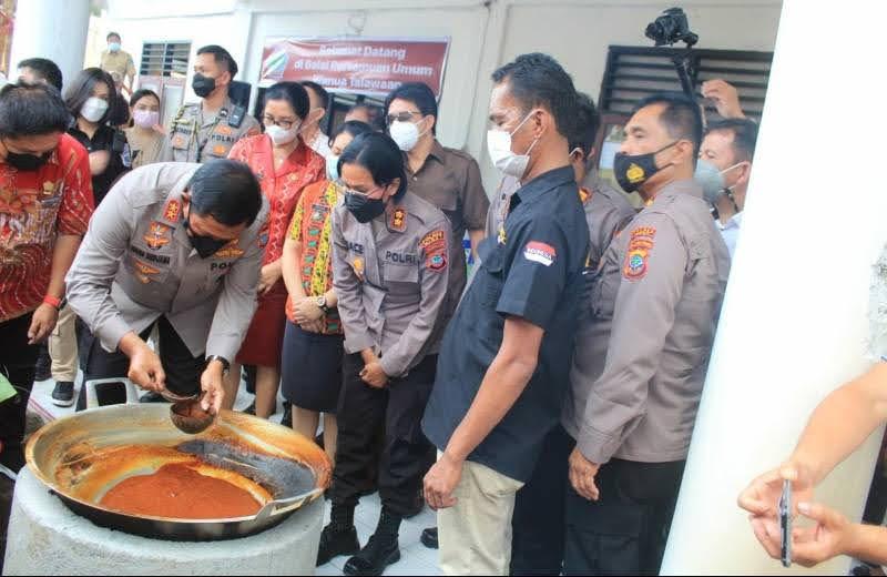 Desa Talawaan Jadi Contoh Kampung Sehat sadar Miras