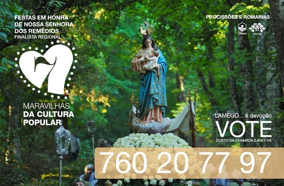 Festas dos Remédios a votos esta quinta para as Maravilhas da Cultura Popular