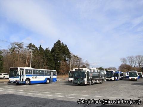 JRバス関東 白河 撮影会ラスト
