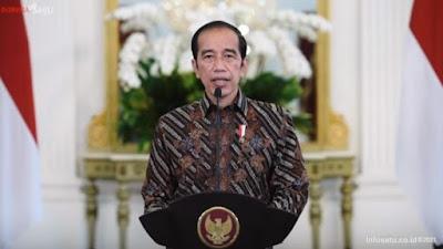 Jokowi Sebut, TWK tidak serta merta dijadikan dasar untuk Memberhentikan 75 Pegawai KPK