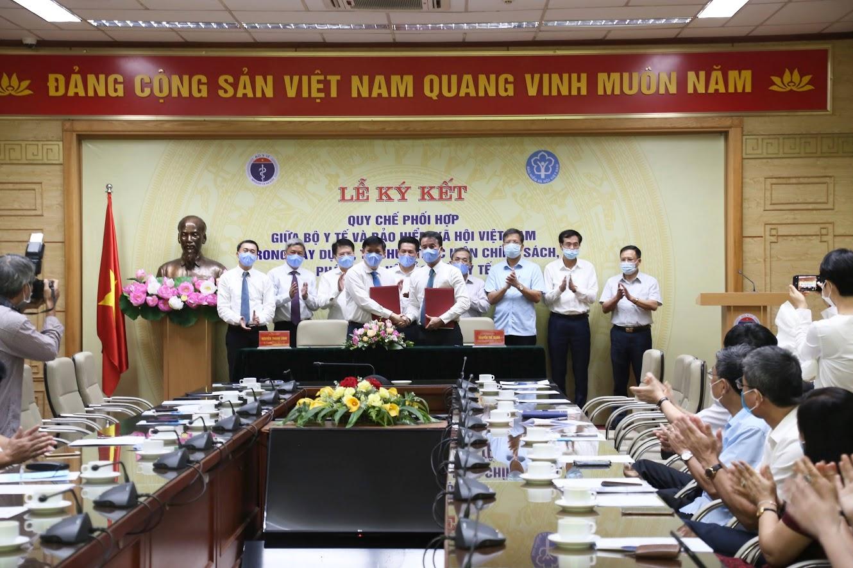 Bộ Y tế và BHXH Việt Nam tiến hành ký kết Quy chế phối hợp