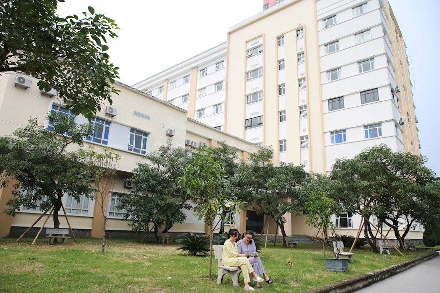 Không gian bệnh viện sạch đẹp