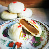 chinese, Chinese Flaky Pastry, dessert, flaky pastry, Huaiyang Flaky Pastry, Lotus Seed Paste, recipe, 淮揚酥皮, 白蓮蓉, 酥餅