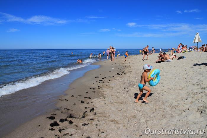 Пляжи Балтийского моря - Янтарный