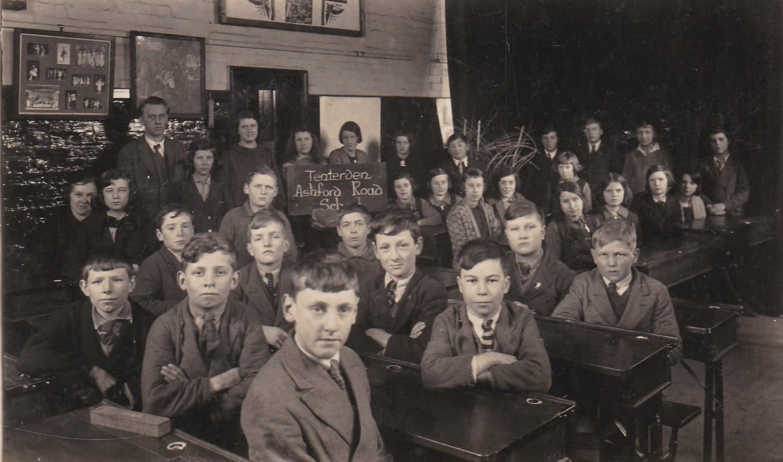Tenterden Archive 1930 - Ashford Road School Tenterden