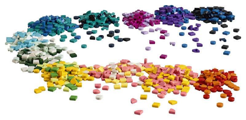 Contenido de LEGO® 41935 DOTS a Montones