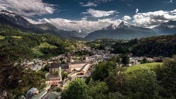 Cross the border into Berchtesgaden