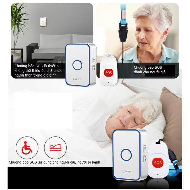 Chuông báo khẩn cấp cho người già