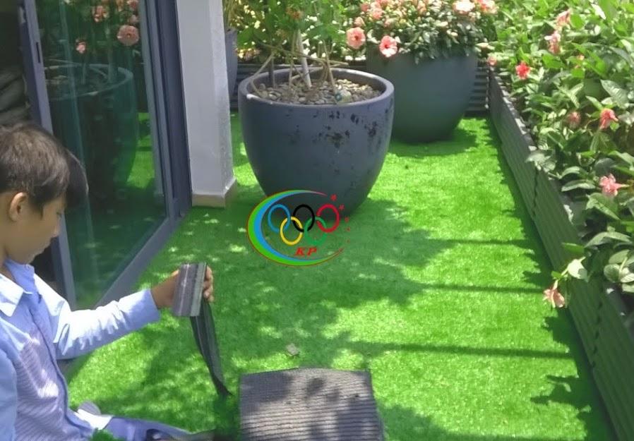 Mặt hàng trang trí cung cấp nhanh nhất lá Thảm cỏ nhựa sân vườn
