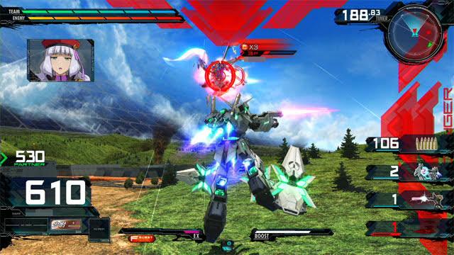 フルアーマー・ユニコーンガンダム(第三形態) 前格闘