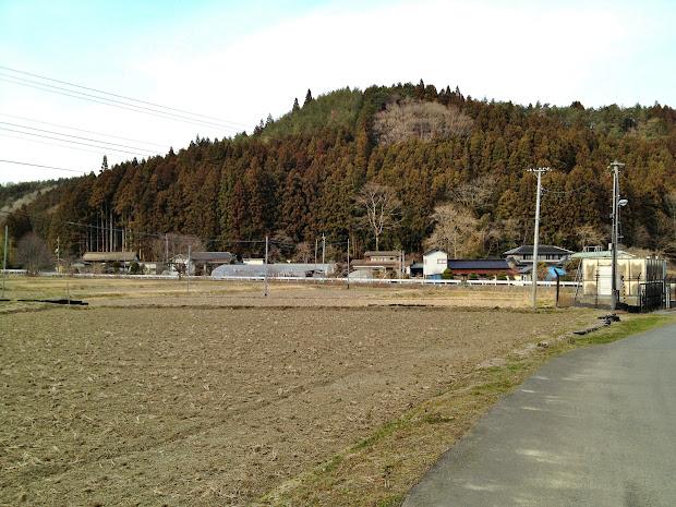 入谷地区大船沢の風景