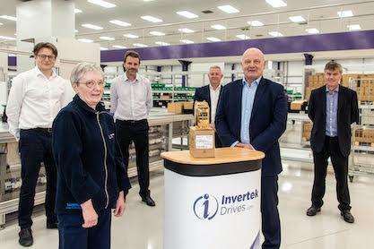 Golden moment for Welshpool firm