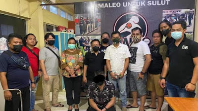 Gadis 15 Tahun Diperkosa Oknum PNS, Ditangkap Maleo Polda Sulut