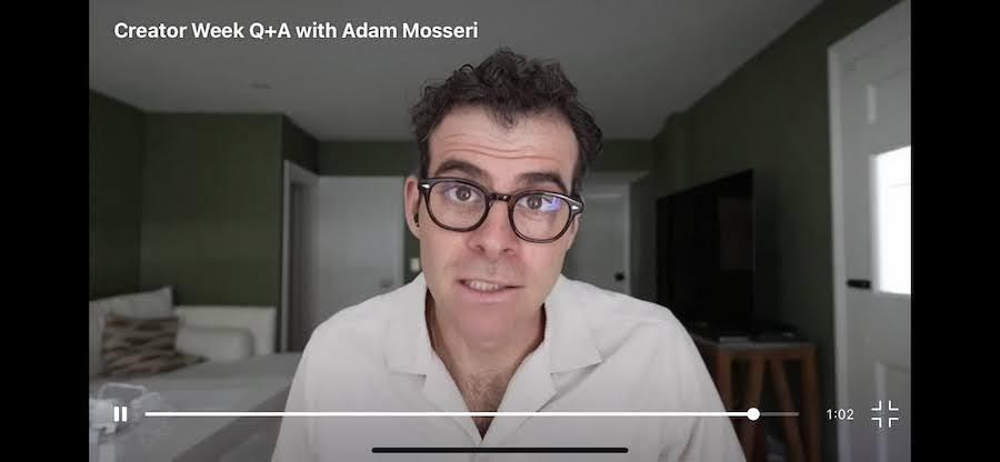 Instagram Creator Week, Adam Mosseri談演算法