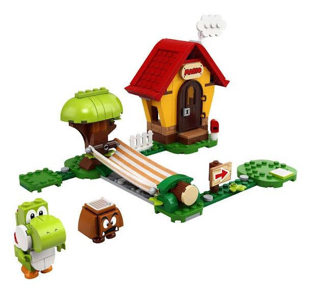 Contenido de Lego® 71367 Set de Expansión: Casa de Mario y Yoshi
