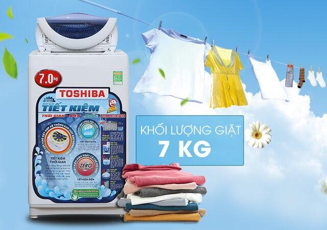 Máy giặt cửa trên Toshiba 7 kg AW-A800SV