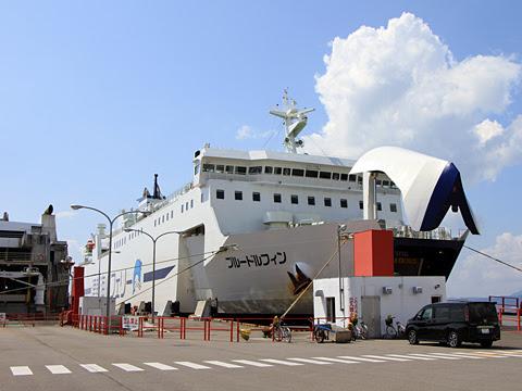 津軽海峡フェリー「ブルードルフィン」