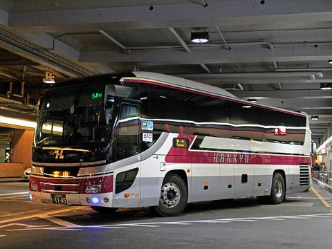 阪急バス「大阪・京都~富山線」 1145