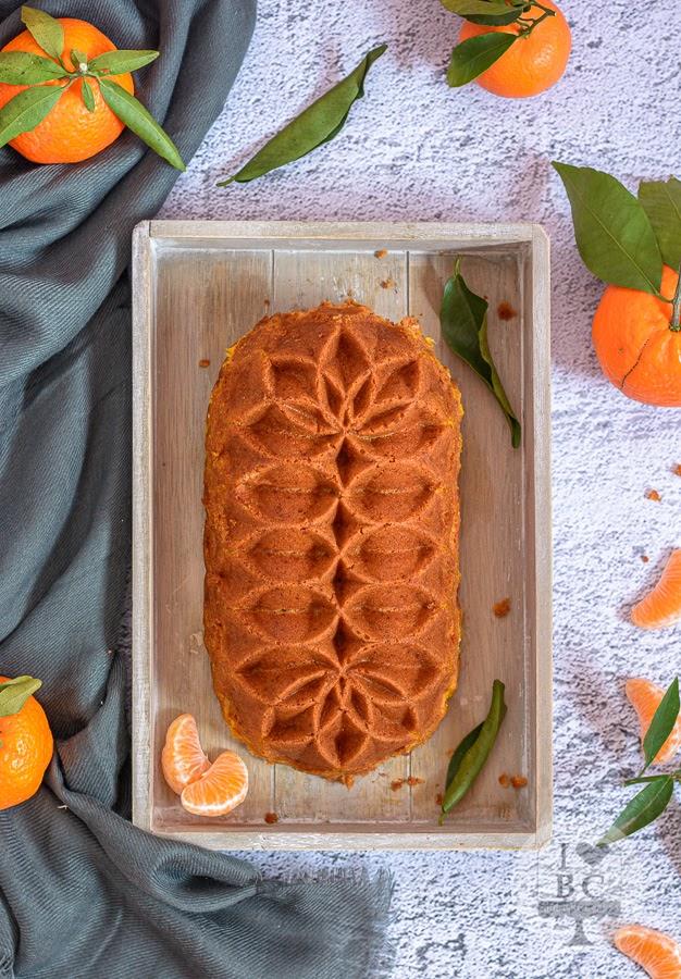 Loaf Cake de mandarinas y vainilla