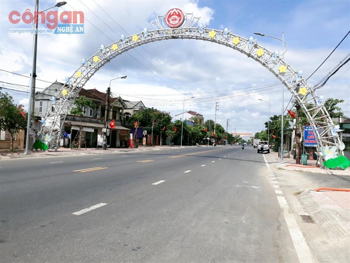 Một góc xã Xuân Giang hôm nay