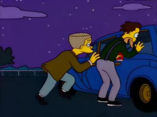 Los Simpsons 7x17 Homero el Smither