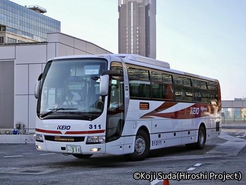 京王バス「中央高速バス白馬線」 51311