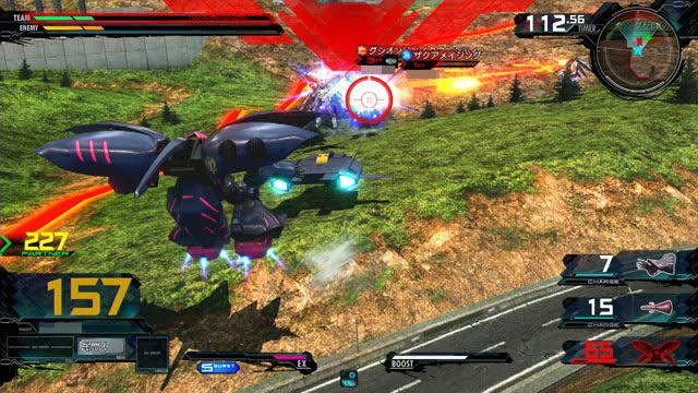 キュベレイMk-II(プル) 格闘CS