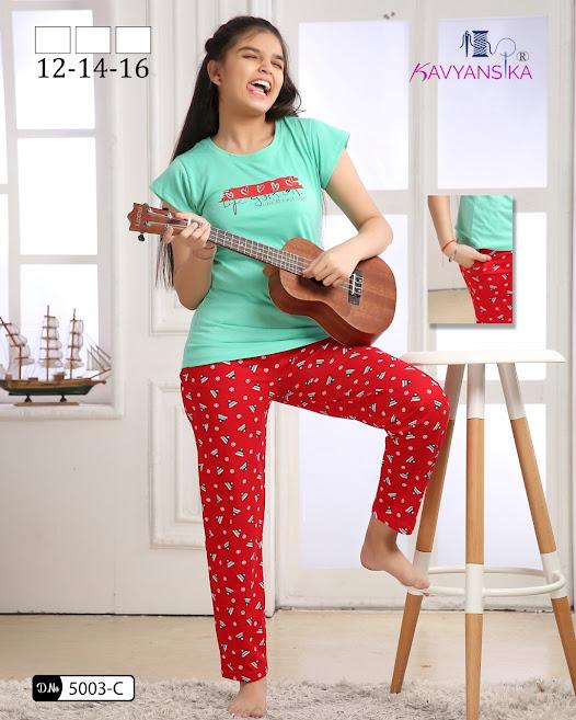 Vol 5003 Kavyansika Ladies Night Suits Manufacturer Wholesaler