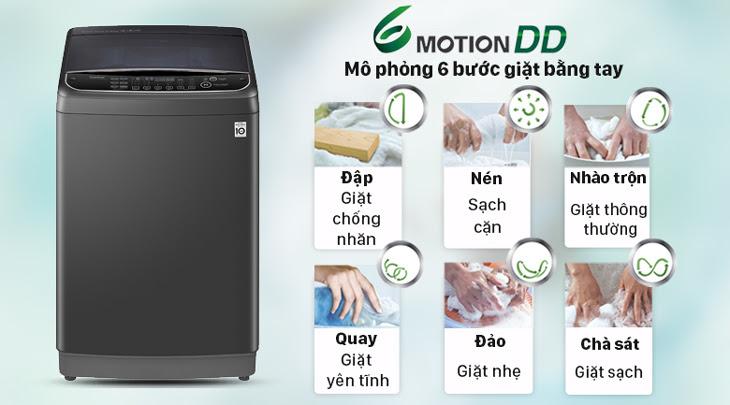 Công nghệ 6 chuyển động - 6 Motion DD