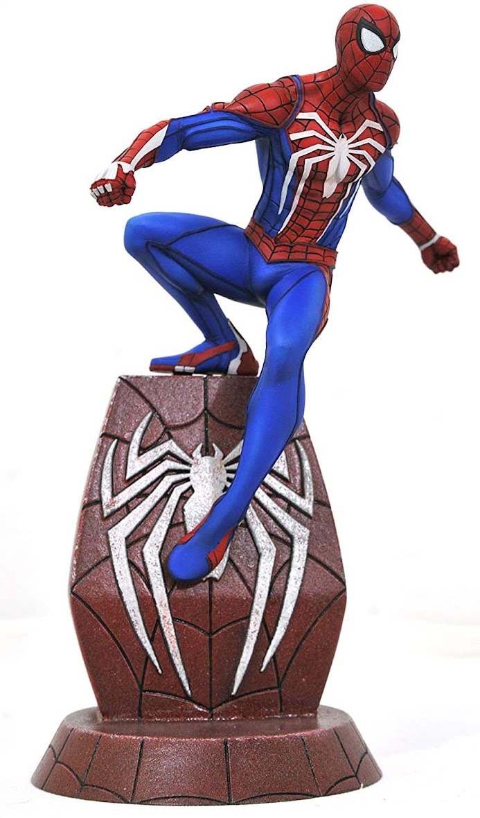 Spiderman action figure from Marvel series