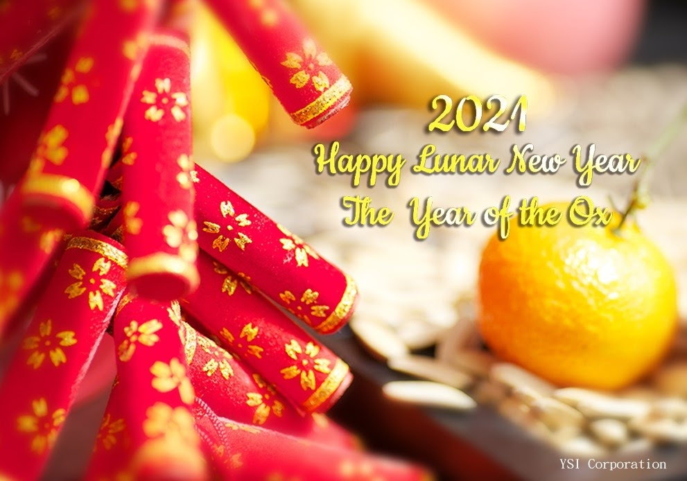 A bright Lunar New Year of the Ox 2021