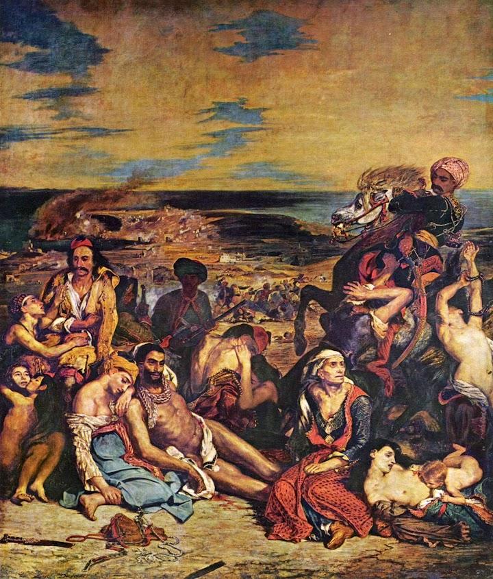 Das Massaker von Chios.