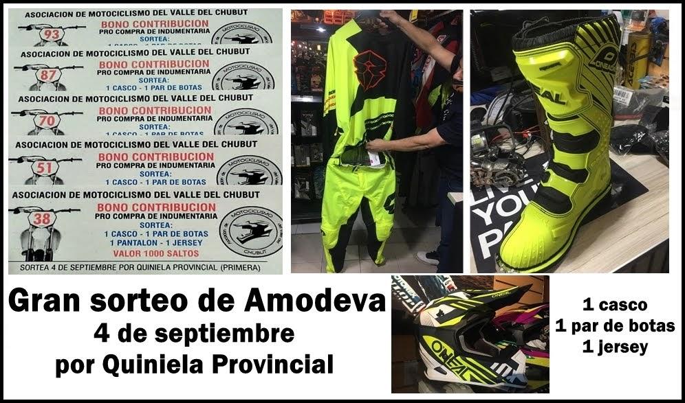 ¡Espectacular sorteo de Amodeva!