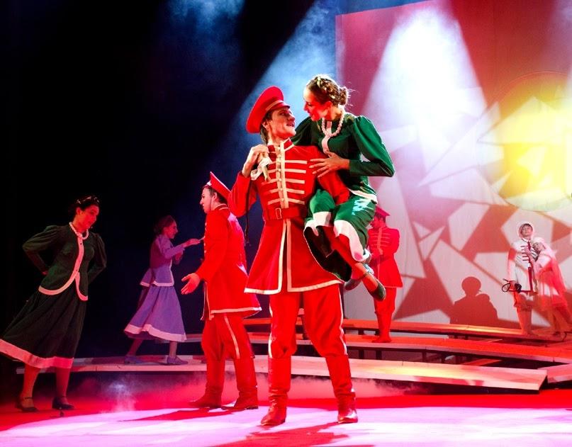 6 декабря на сцене Волгоградского театра юного зрителя состоялась премьера спектакля «Родион и дочь султана»