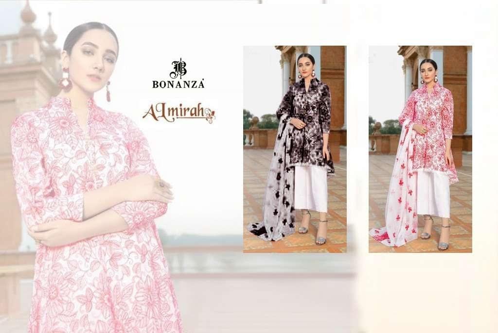 Almirah Special Vol 1 Bonanza Pakistani Dress Material Manufacturer Wholesaler