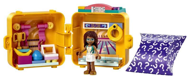 Contenido de LEGO® 41671 Cubo de Nadadora de Andrea