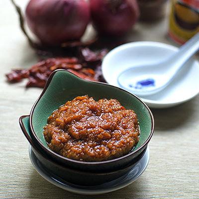 Sambal Tumis/ Malaysian Chilli Paste