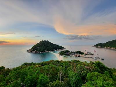 Snorkel Tour to Koh Nangyuan & Koh Tao by Speed Boat from Koh Phangan