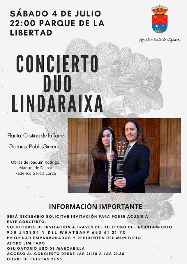 Concierto Duo Lindaraixa
